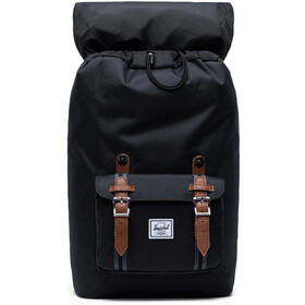 Herschel Little America Mid-Volume Rugzak 17L, black/black/tan